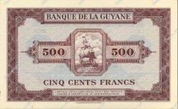 500 Francs type 1942 GUYANE  1942 P.14s NEUF