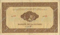 1000 Francs type 1942 GUYANE  1942 P.15 TTB+