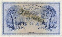 1000 Francs GUYANE  1943 P.16A NEUF