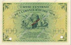 100 Francs type 1943 GUYANE  1943 P.17s SPL
