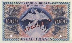 1000 Francs GUYANE  1943 P.18ds NEUF