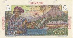 5 Francs GUYANE  1946 P.19s SPL