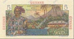 5 Francs GUYANE  1946 P.19a pr.NEUF
