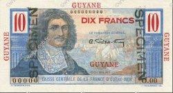 10 Francs Colbert GUYANE  1946 P.20s NEUF
