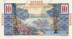 10 Francs GUYANE  1946 P.20s NEUF