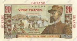 20 Francs GUYANE  1946 P.21a SPL+