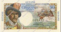 50 Francs GUYANE  1946 P.22a SPL+