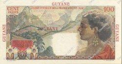 100 Francs GUYANE  1946 P.23s SPL