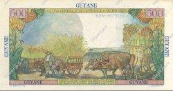 500 Francs Pointe à Pitre GUYANE  1946 P.24s SUP+