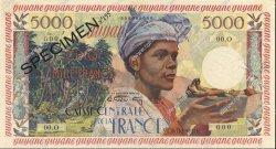 5000 Francs GUYANE  1956 P.28s SPL+