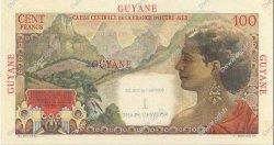 1 NF sur 100 Francs GUYANE  1961 P.29 NEUF