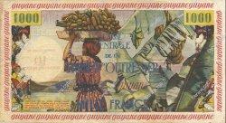 10 NF sur 1000 Francs GUYANE  1960 P.31 TTB+