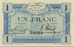 1 Franc GUYANE  1917 P.05 NEUF