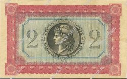 2 Francs GUYANE  1917 P.06 SUP