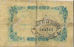 2 Francs GUYANE  1945 P.11C TTB