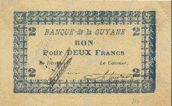 2 Francs GUYANE  1945 P.11C SUP