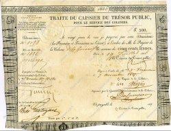 500 Francs GUYANE  1836 K.251 TTB+