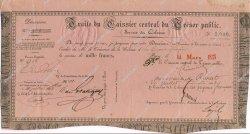 1000 Francs GUYANE  1843 K.254 SUP