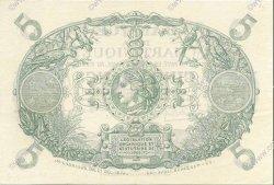 5 Francs Cabasson violet 1901 MARTINIQUE  1932 P.06 SUP+