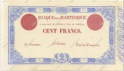 100 Francs MARTINIQUE  1899 P.--