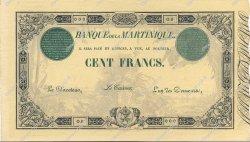 100 Francs 1852 modifié MARTINIQUE  1910 P.08 pr.NEUF