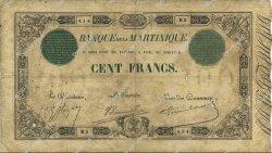 100 Francs 1852 modifié MARTINIQUE  1912 P.08 B