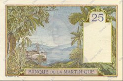 25 Francs type 1927 MARTINIQUE  1938 P.12 SUP+