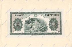 100 Francs type américain MARTINIQUE  1945 P.19s pr.NEUF