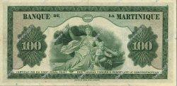 100 Francs type américain MARTINIQUE  1943 P.19a SUP