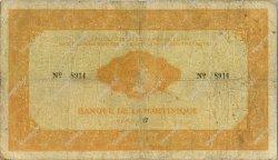 1000 Francs MARTINIQUE  1942 P.20 TB
