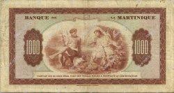 1000 Francs MARTINIQUE  1945 P.21a pr.TTB