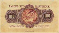 100 Francs type américain MARTINIQUE  1943 P.- SUP
