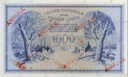 1000 Francs Phénix MARTINIQUE  1944 P.22b NEUF
