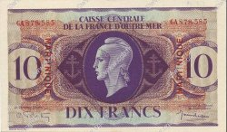 10 Francs type anglais MARTINIQUE  1946 P.23 SPL