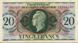 20 Francs MARTINIQUE  1946 P.24 pr.SPL