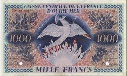 1000 Francs Phénix MARTINIQUE  1946 P.26s SPL
