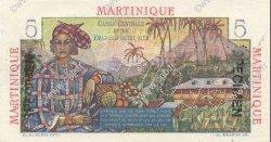 5 Francs MARTINIQUE  1946 P.27s NEUF
