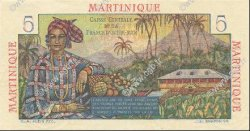 5 Francs MARTINIQUE  1946 P.27 SPL
