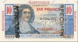 10 Francs MARTINIQUE  1946 P.28s pr.NEUF