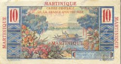 10 Francs MARTINIQUE  1946 P.28 SUP