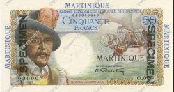 50 Francs MARTINIQUE  1946 P.30s NEUF