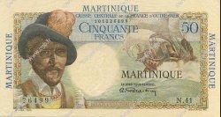 50 Francs MARTINIQUE  1946 P.30 SUP+