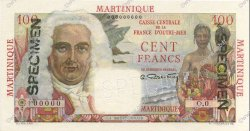 100 Francs La Bourdonnais MARTINIQUE  1946 P.31s NEUF