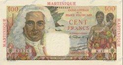 100 Francs La Bourdonnais MARTINIQUE  1946 P.31 SUP+