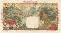 100 Francs MARTINIQUE  1946 P.31 SUP+