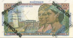 500 Francs MARTINIQUE  1946 P.32s NEUF