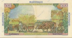500 Francs Pointe à Pitre MARTINIQUE  1946 P.32 SUP+