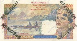 1000 Francs MARTINIQUE  1946 P.33s pr.NEUF