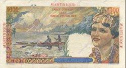 1000 Francs Union Française MARTINIQUE  1946 P.33 TTB+