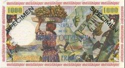 1000 Francs pêcheur MARTINIQUE  1956 P.35s pr.NEUF